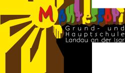Montessori-Schule Landau an der Isar Logo