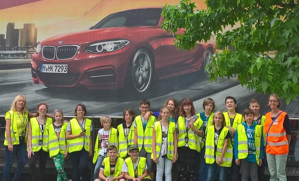 BMW Werksbesichtigung Juli 2016