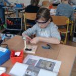 ...nach Ostern bauen sie einen elektronischen Würfel