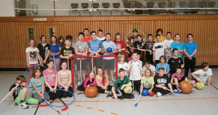Sport verbindet Montessori- und Lebenshilfe‐Schule
